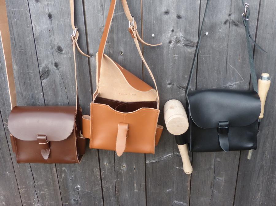 Juchtenledertasche