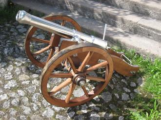 Salutkanone, Kanonenbau